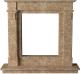 Портал для камина Glivi Инга 144x30x133.5 Emperador Light (светло-коричневый) -