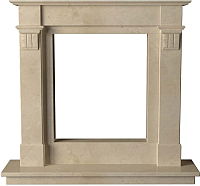 Портал для камина Glivi Инга 144x30x133.5 Crema Marfil (слоновая кость) -