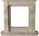Портал для камина Glivi Инга 144x30x133.5 Breccia Sardo (темно-бежевый) -