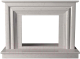 Портал для камина Glivi Карталия 136x60x101 Biancone (белый) -