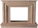 Портал для камина Glivi Карталия 136x60x101 Rosa Perlino (розовый) -