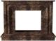 Портал для камина Glivi Карталия 136x60x101 Emperador Dark (темно-коричневый) -