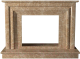 Портал для камина Glivi Карталия 136x60x101 Emperador Light (светло-коричневый) -