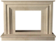 Портал для камина Glivi Карталия 136x60x101 Crema Marfil (слоновая кость) -