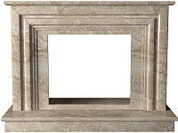 Портал для камина Glivi Карталия 136x60x101 Breccia Sardo (темно-бежевый) -