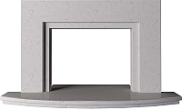 Портал для камина Glivi Леон 140x27.5x82.5 Biancone (белый) -