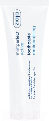 Зубная паста Ziaja MintPerfect реминерализирующая для детей 6+ и взрослых (75мл)