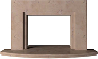 Портал для камина Glivi Леон 140x27.5x82.5 Rosa Perlino (розовый) -