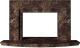 Портал для камина Glivi Леон 140x27.5x82.5 Emperador Dark (темно-коричневый) -