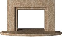 Портал для камина Glivi Леон 140x27.5x82.5 Emperador Light (светло-коричневый) -