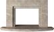 Портал для камина Glivi Леон 140x27.5x82.5 Breccia Sardo (темно-бежевый) -