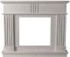 Портал для камина Glivi Лондра 130x30x110 Biancone (белый) -