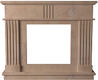 Портал для камина Glivi Лондра 130x30x110 Rosa Perlino (розовый) -