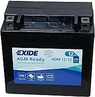 Мотоаккумулятор Exide AGM12-14 (12 А/ч) -