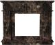 Портал для камина Glivi Лондра 130x30x110 Emperador Dark (темно-коричневый) -