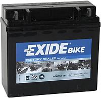 Мотоаккумулятор Exide AGM12-18 (18 А/ч) -