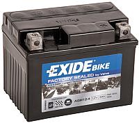 Мотоаккумулятор Exide AGM12-4 (3 А/ч) -