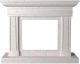Портал для камина Glivi Миллениум 141x40x115 Biancone (белый) -