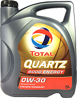 Моторное масло Total Quartz 9000 Energy 0W30 / 151522 (5л) -
