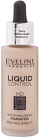 Тональный крем Eveline Cosmetics Cosmetics Liquid Control №010 Light Beige инновационный жидкий (32мл) -
