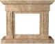 Портал для камина Glivi Миллениум 141x40x115 Emperador Light (светло-коричневый) -