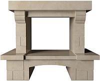 Портал для камина Glivi Мадрид 130x70x108 Crema Marfil (слоновая кость) -