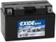Мотоаккумулятор Exide AGM12-8 (8.6 А/ч) -