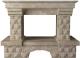 Портал для камина Glivi Несвиж 150x74x110 Breccia Sardo (темно-бежевый) -