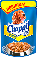 Корм для собак Chappi с курочкой аппетитной (100г) -