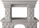 Портал для камина Glivi Несвиж 150x74x110 Biancone (белый) -