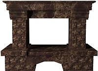 Портал для камина Glivi Несвиж 150x74x110 Emperador Dark (темно-коричневый) -