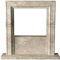 Портал для камина Glivi Полония 127x25x125 Breccia Sardo (темно-бежевый) -