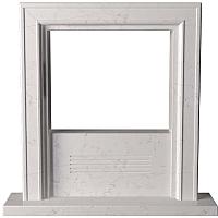 Портал для камина Glivi Полония 127x25x125 Biancone (белый) -