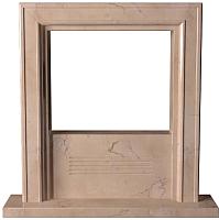 Портал для камина Glivi Полония 127x25x125 Rosa Perlino (розовый) -