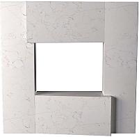 Портал для камина Glivi Порто 136x155x134 Biancone (белый) -