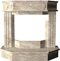 Портал для камина Glivi Осло 130x50.5x120.5 Breccia Sardo (темно-бежевый) -