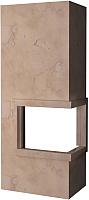 Портал для камина Glivi Резольют 86x63x75 Rosa Perlino (розовый) -