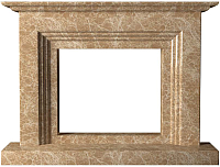 Портал для камина Glivi Рейн 152x25x114 Emperador Light (светло-коричневый) -
