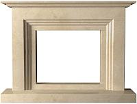 Портал для камина Glivi Рейн 152x25x114 Crema Marfil (слоновая кость) -