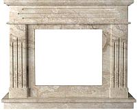 Портал для камина Glivi Рогнеда 135x43.5x110 Breccia Sardo (темно-бежевый) -