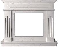 Портал для камина Glivi Рогнеда 135x43.5x110 Biancone (белый) -