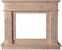 Портал для камина Glivi Рогнеда 135x43.5x110 Rosa Perlino (розовый) -
