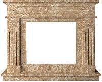 Портал для камина Glivi Рогнеда 135x43.5x110 Emperador Light (светло-коричневый) -