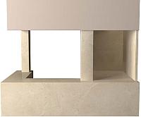 Портал для камина Glivi Сарагоса 152.5x80.5x95 Crema Marfil (слоновая кость) -