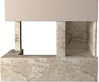 Портал для камина Glivi Сарагоса 152.5x80.5x95 Breccia Sardo (темно-бежевый) -