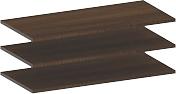 Комплект полок вкладных Лером Карина ПЛ-1025-АТ (акация молдау) -