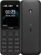 Мобильный телефон Nokia 125 Dual Sim (черный) -