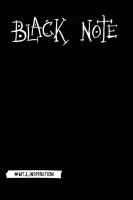 Записная книжка Эксмо Black Note / 9785699916153 -