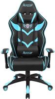 Кресло геймерское Седия Viper Eco (черный/синий) -