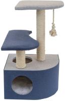 Комплекс для кошек Дарэлл Navy / 83472дб -